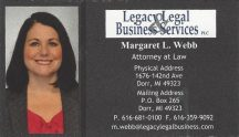 Legacy Legal & Business Services - Margaret L. Web